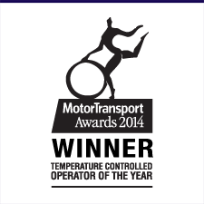 Motor Transport Awards winner 2014